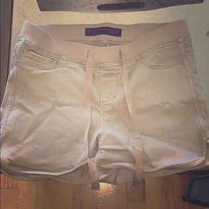 Pants - Tan shorts very stretchy